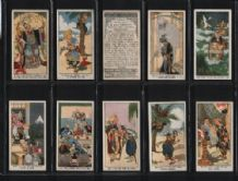 Tobacco cigarette cards Eastern Proverbs 1931